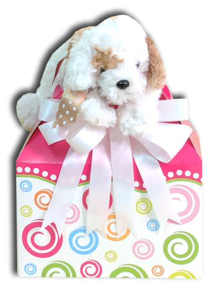 puppy gift basket orange county