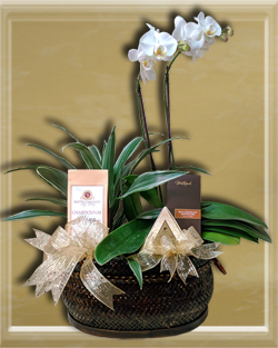 flower gift basket orange county
