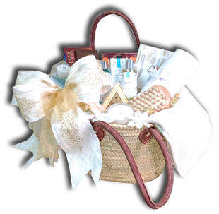 spa gift basket newport beach