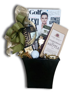 golf gift basket newport beach