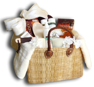 spa gift baskets orange county